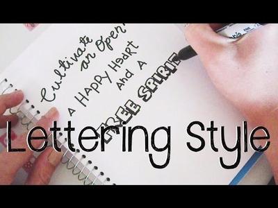 Doodle with Me : Simple Lettering Techniques + Announcement!!