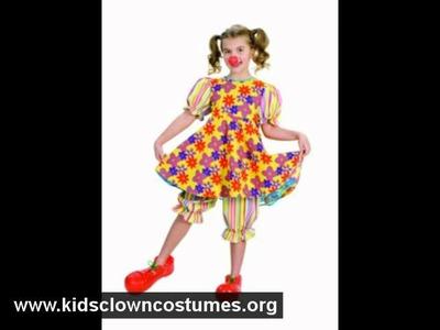Halloween Costume Ideas: Kids Clown Costumes -  Kidsclowncostumes.org.