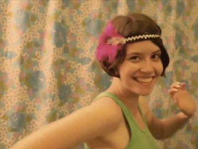 Handmade 1920's inspired headbands