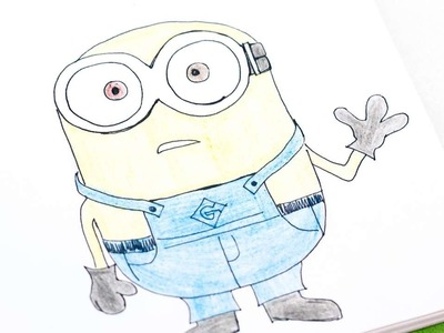 How To Easily Draw Bob The Minion - DIY  Tutorial - Guidecentral