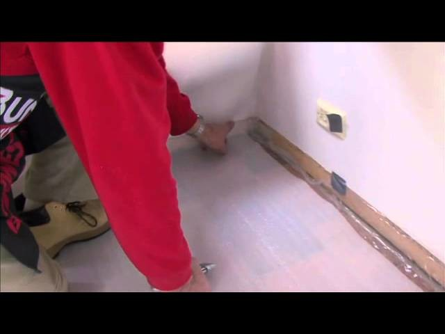 How to lay a floating floor