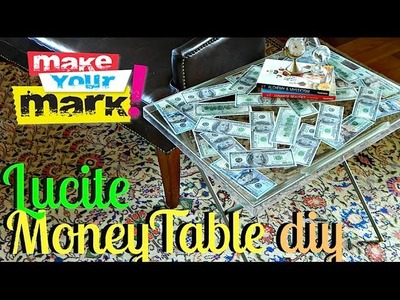 How to: Lucite Table DIY