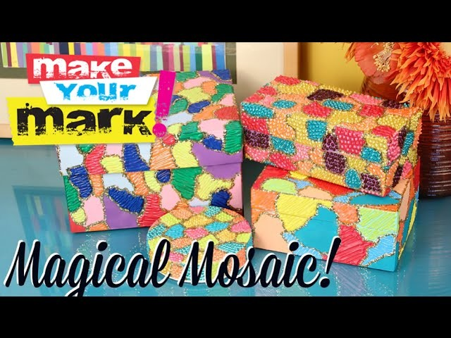 How to: Magical Mosaic Boxes & Frames