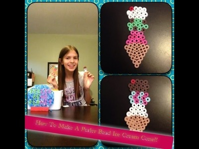 How To Make A Perler Bead Ice Cream Cone