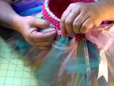 HOW TO make a tutu Easter Basket