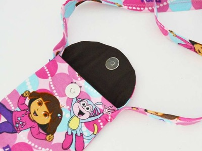 How To Sew A Cute Little Dora Bag For Toddlers - DIY Crafts Tutorial - Guidecentral