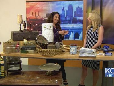 KCL - The Diva Of DIY details finding garage sale treasures