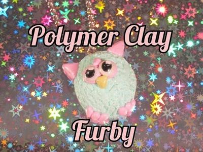 Polymer Clay Furby Charm