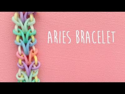 Rainbow Loom Bands Aries Bracelet Tutorial