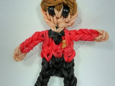 Rainbow Loom Chief Engineer Scotty - Star Trek Action Figure.Charm - Gomitas