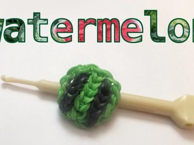 Rainbow Loom Watermelon Charm | Loom Bands Tutorial | How To