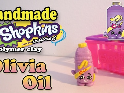 Season 2 Shopkins: How To Make Olivia Oil Polymer Clay Tutorial!
