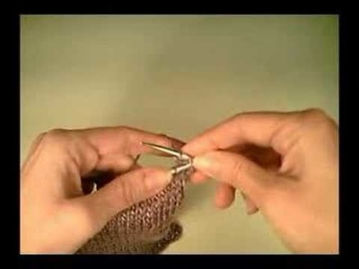 Suspended Bind Off for Knitting
