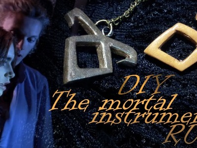 The Mortal Instruments Necklace Runes. DIY