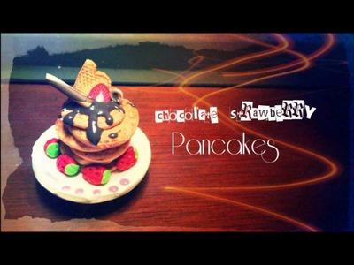 Tutorial : Polymer Clay Chocolate Pancakes