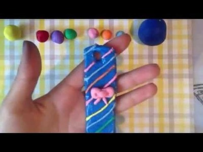 Back to school: how to make a polymer clay bookmark