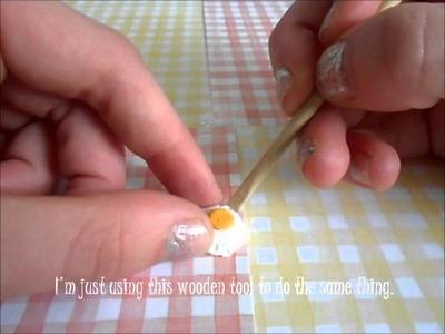 ♡ Bacon 'N Eggs Polymer Clay Tutorial ♡