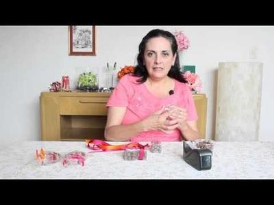 Cómo decorar pasitas cubiertas de chocolete para mesa de dulces