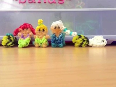 Disney Rainbow Loom Figurines and Cute (Kawaii) Rainbow Loom Charms!