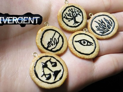 Divergent Faction Symbols Polymer Clay Tutorial + Annoucement