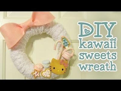 DIY Kawaii Sweets Wreath