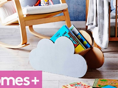 DIY PROJECT: Cloud book rack - homes+