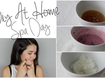 DIY Spa Day At Home!