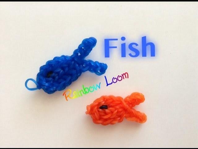 EASY Rainbow Loom Fish Charms