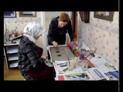 Ebru, Turkish art of marbling