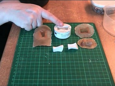 FDS Tutorial: Plaster casting & a latex mold with polymer clay
