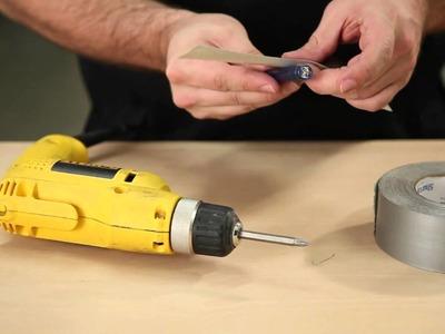 How to Attach A Light To Your Screwdriver - Build.com 30 Second Tip