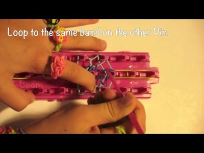 How to Make a FLOWER RING Cra Z Loom Rubber Band Maker