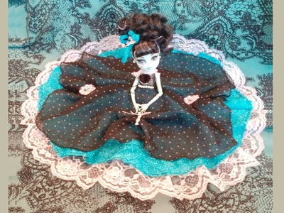 How to make a Gothic Victorian dress for Monster High dolls