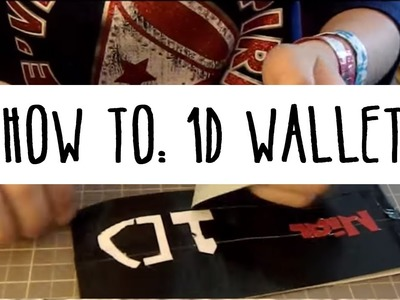 How To Make a One Direction Wallet (Timelapse)