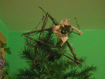How to Make a Rustic Christmas Star