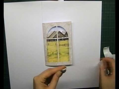 How to make a window card #2