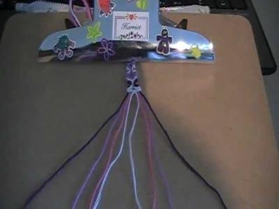How to make friendsip bracelets: totempole