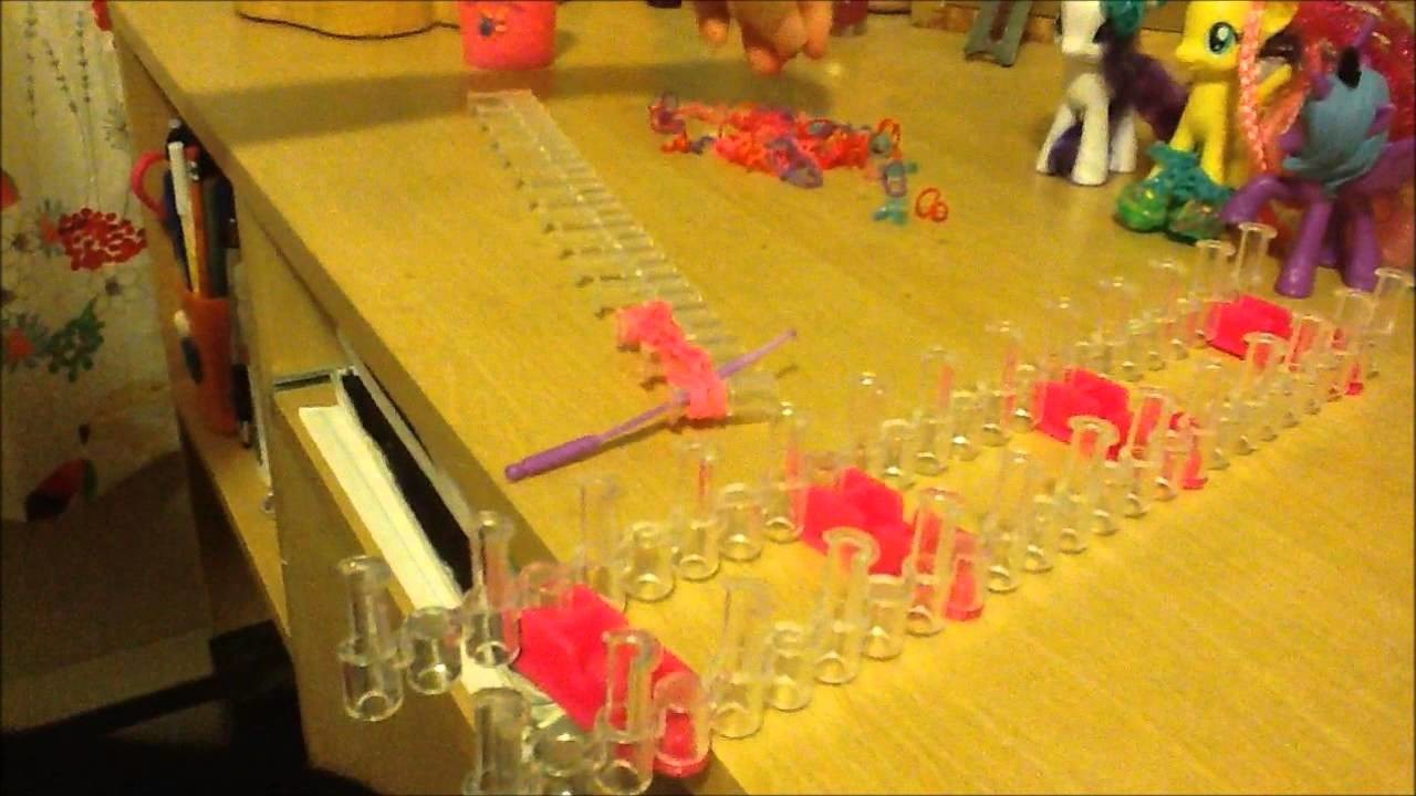 How To Make Rainbow Loom MLP Shoes