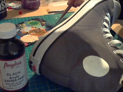 How to paint your own canvas shoes (The Matstar Way!!)