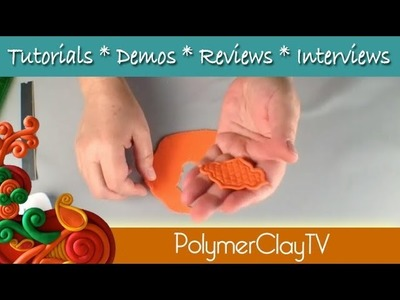 How to use polymer clay Fancy Edge Cutters on Polymer Clay TV
