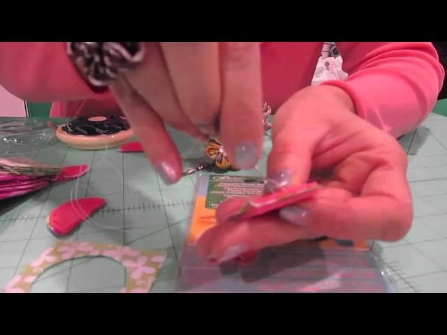 How to use the Kanzashi Round Extra Small Petal Flower Maker from Clover - USA