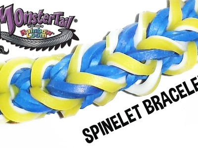 Monster Tail® Spinelet Bracelet by Rainbow Loom®