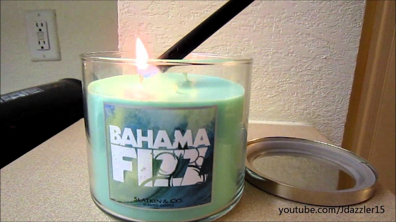 """My Candle Maintenance & """"Bad Candle"""" Example"""