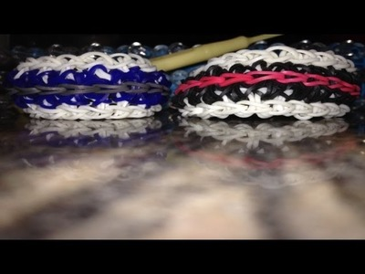 *NEW!* How to Make a Rainbow Loom Roadrail Bracelet!