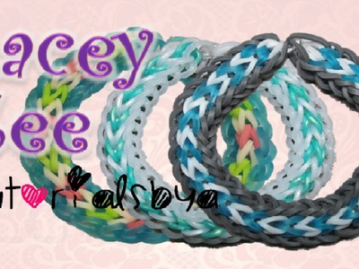 NEW Lacey Zee Rainbow Loom Bracelet Tutorial