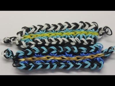*NEW* Zigburst Bracelet Tutorial on the Rainbow Loom