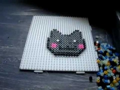 Nyan Cat Speed Build - Hama Bead Pixel Art