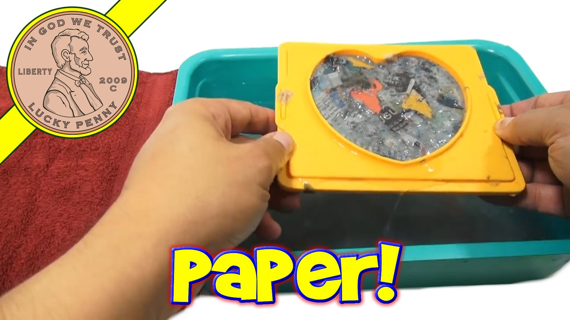 Paper Recycling Workshop E-Z Crafts, by Wow Toyz
