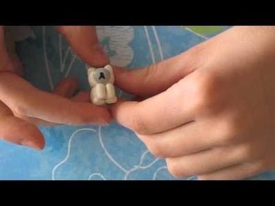 Polymer clay polar bear