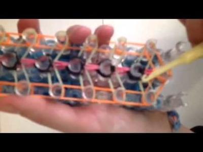 Rainbow loom double decker bracelet!!!!!new!